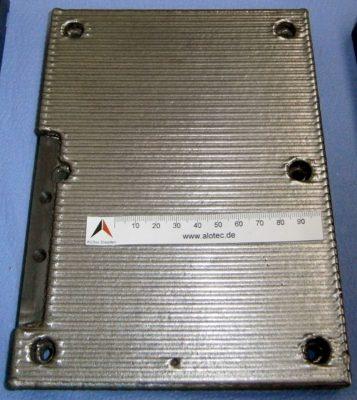 Großflächiges schweißen mit Pulver - Laserpulverauftragschweißen