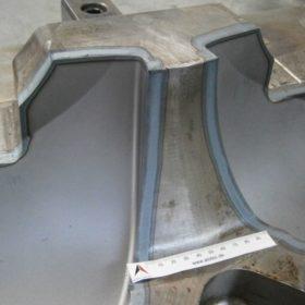 Laserhärten einer Schließkante im Formenbau mit der Bearbeitungsoptik ALOhard