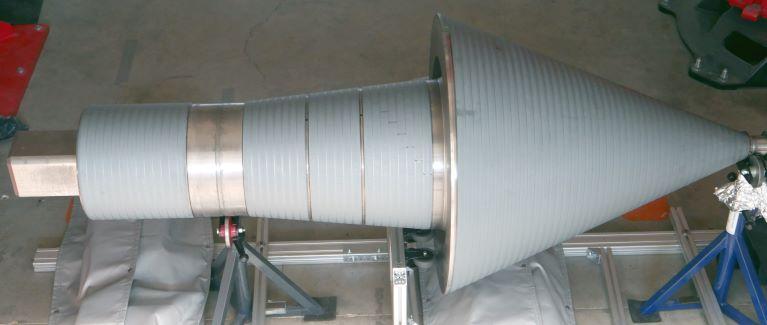 Laserhärten mit der Bearbeitungsoptik ALOhard an Bauteilen für den allgemeinen Maschinenbau
