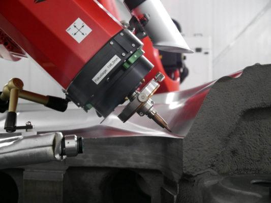 ALOwire - Laserdrahtauftragschweißen im Werkzeugbau